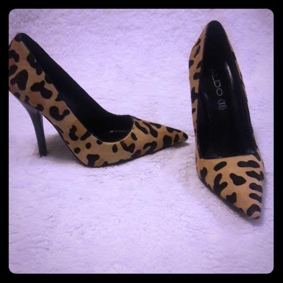 c4b6d17e19 Aldo Shoes | Cheetah Print Stessy Heels | Poshmark